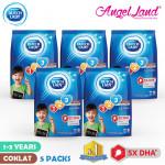 Dutch Lady New Range Milk Powder-1-3/4-6/6+ (900g x 5 Packs)