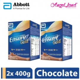 image of Abbott Ensure Gold Chocolate (400g) x 2 Packs