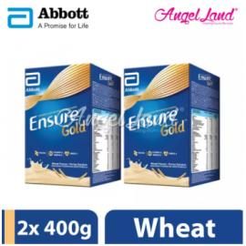 image of Abbott Ensure Gold (400g) Wheat (2 Packs)
