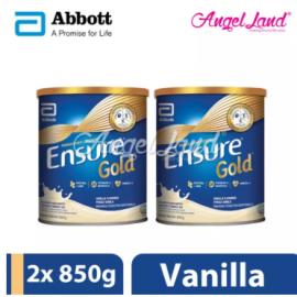 image of Abbott Ensure Gold +HMB  850g Vanilla (2 Tins)