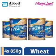 image of Abbott Ensure Gold +HMB 850g Wheat (4 Tins)