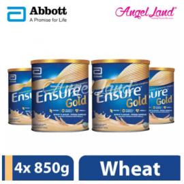image of Abbott Ensure Gold +HMB 850g Wheat (4 Tins)