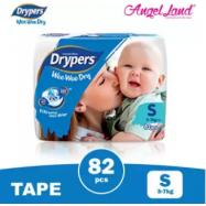 image of Drypers Wee Wee Dry Tape Diaper S82/M74/L62/XL50/XXL40 (1pack)