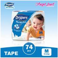 image of Drypers Wee Wee Dry M74 (1Pack)