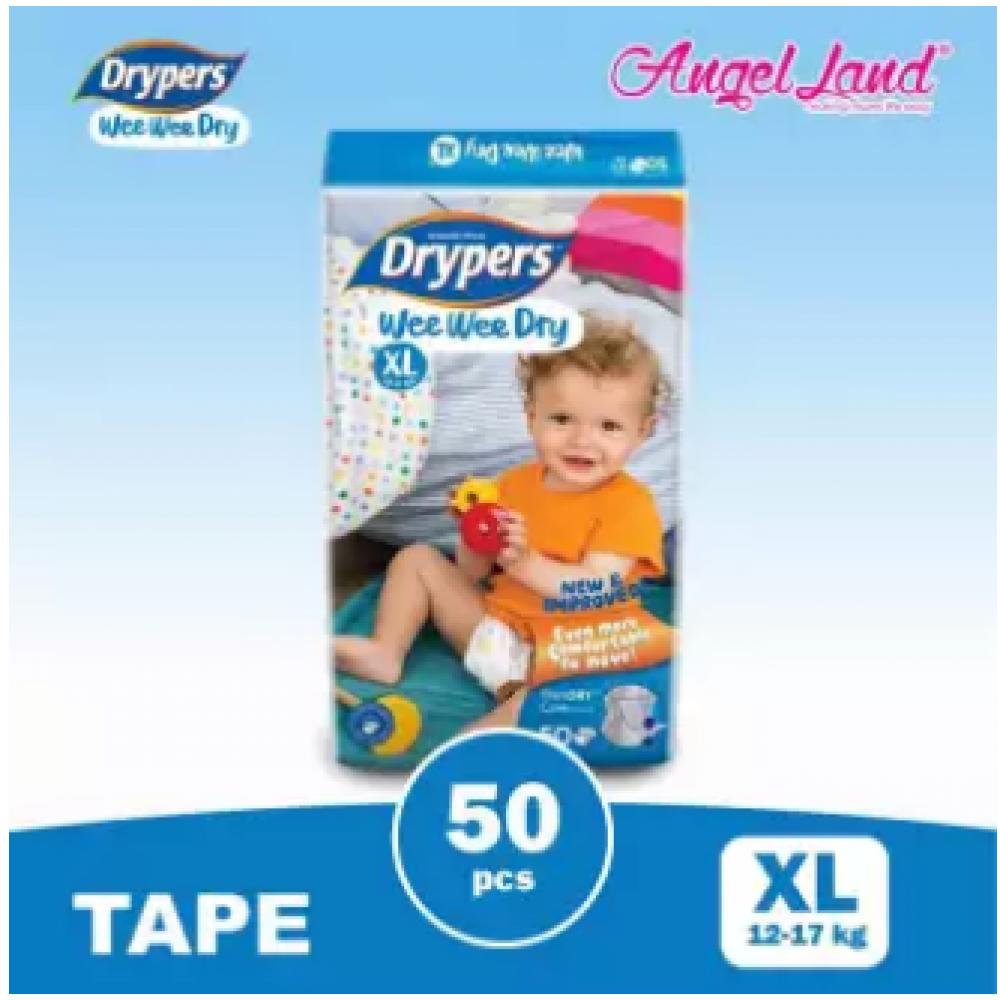 Drypers Wee Wee Dry XL50 (1pack)