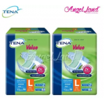 Tena Value Adult Diaper L 10pcs (2 Packs)