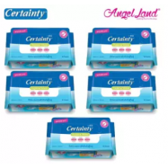 image of Certainty Adult Hygiene Wipes (40 Sheets) 5 Packs