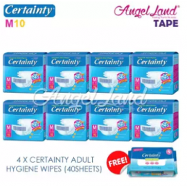 image of Certainty Disposable Adult Diapers M10 (8packs)