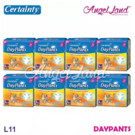 image of Certainty Daypants Disposable Adult Pants Regular Pack L11 (8 packs)