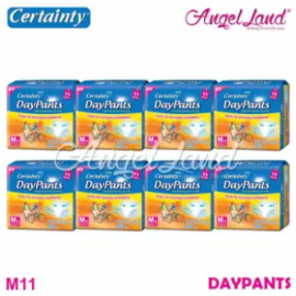image of Certainty Daypants Disposable Adult Pants Regular Pack M11 (8 packs)