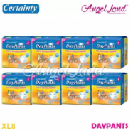 image of Certainty Daypants Disposable Adult Pants Regular Pack XL8 (8 packs)