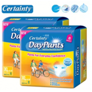 image of Certainty Daypants Disposable Adult Pants Regular Pack XL8 (2 packs)
