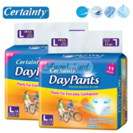 image of Certainty Daypants Disposable Adult Pants Regular Pack L11 (2 packs)