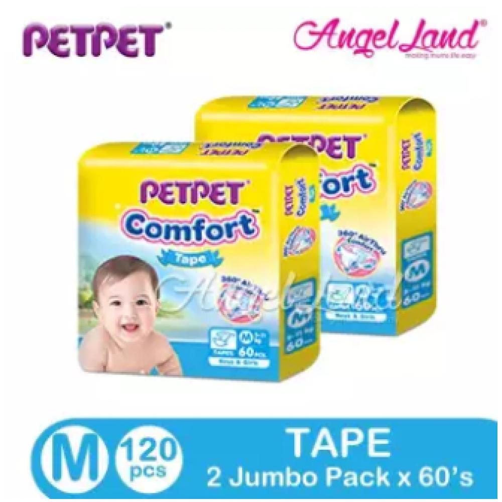 PETPET Comfort Tape Mega Pack M60/L50/XL40 (2Packs)