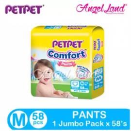 image of PETPET Comfort Pants Jumbo Pack M58  (1 Pack)