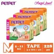 image of PETPET Tape Mega Pack M72+4 (3packs)