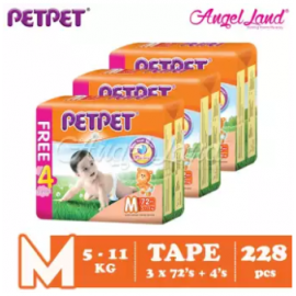 image of PETPET Tape Mega Pack M72+4 (3packs)