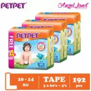 image of PETPET Tape Mega Pack L60+4  (3packs)
