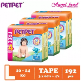 image of PETPET Tape Mega Pack L60+4  (3packs)