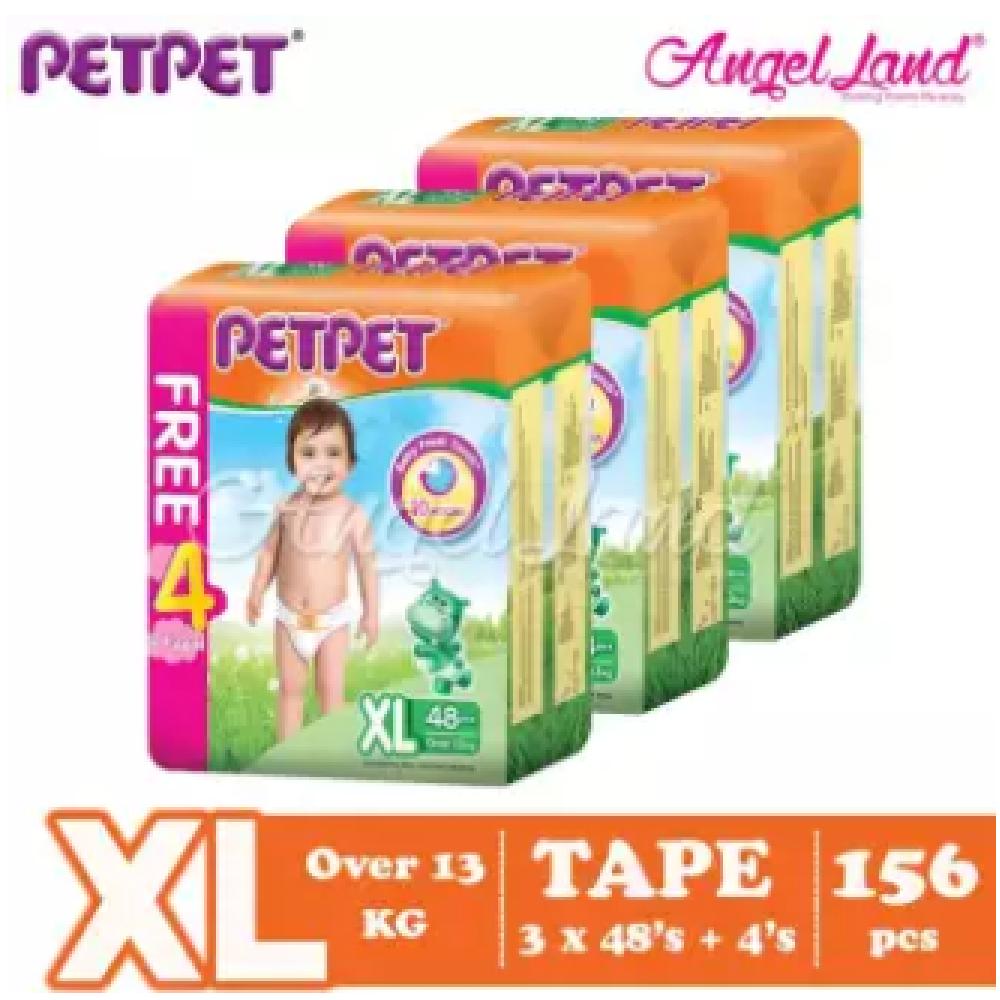 PETPET Tape Mega Pack XL48+4 (3packs)