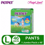PETPET DayNight Pants Jumbo Packs M54/L46/XL40/XXL32 (1Pack)