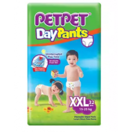 image of PETPET DayPants Diaper Jumbo Packs XXL32