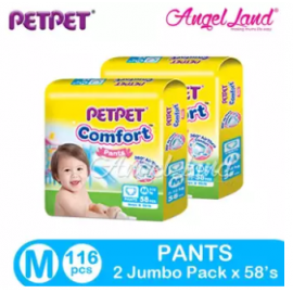 image of PETPET Comfort Pants Jumbo Pack M58 (2Packs)