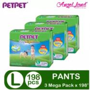 image of PetPet DayNight Pants Mega Pack L66 (3 pack)