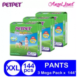 image of PETPET DayNight Pants Mega Packs XXL48 (3 Packs)