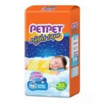 PETPET Night Tape Diaper Jumbo Packs XL30 (3packs)