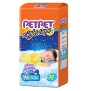 image of PETPET Night Tape Diaper Jumbo Packs L32