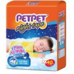 PETPET Night Tape Diaper Jumbo Packs M40