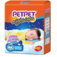 image of PETPET Night Tape Diaper Jumbo Packs M40