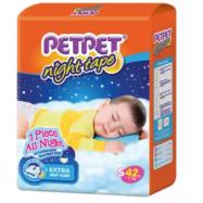 image of PETPET Night Tape Diaper Jumbo Packs S42