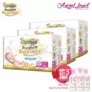 image of BabyLove Premium GoldTape Jumbo Pack S76 (3Packs) FOC 1 x Kira Kira Top-To-Toe Wash