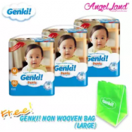 image of Genki! Pants Mega M60 (3Packs)+ FREE Genki Non Wooven Bag (1pcs)