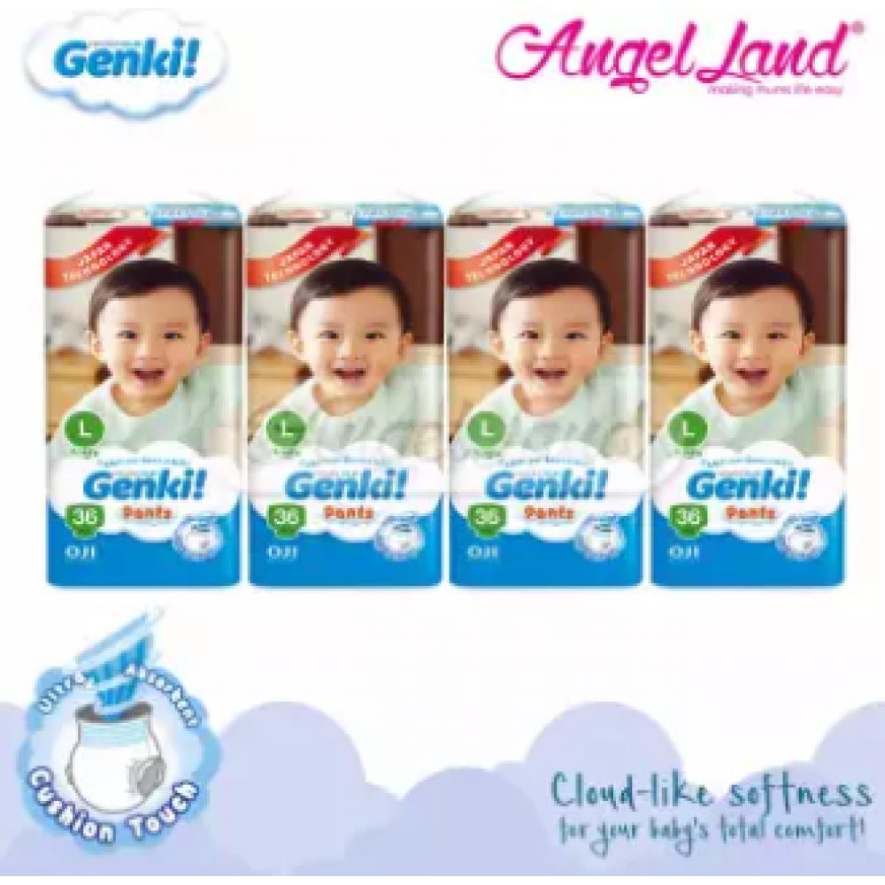 GENKI PANTS JUMBO L36 (4 packs)