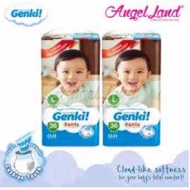 image of GENKI! PANTS JUMBO L36 (2 PACKS)