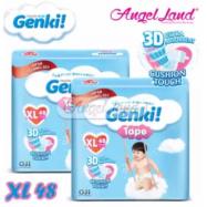 image of Genki Tape Mega Diaper XL48 (2Packs)