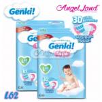 Genki Tape Mega Diaper L62 (2Packs)