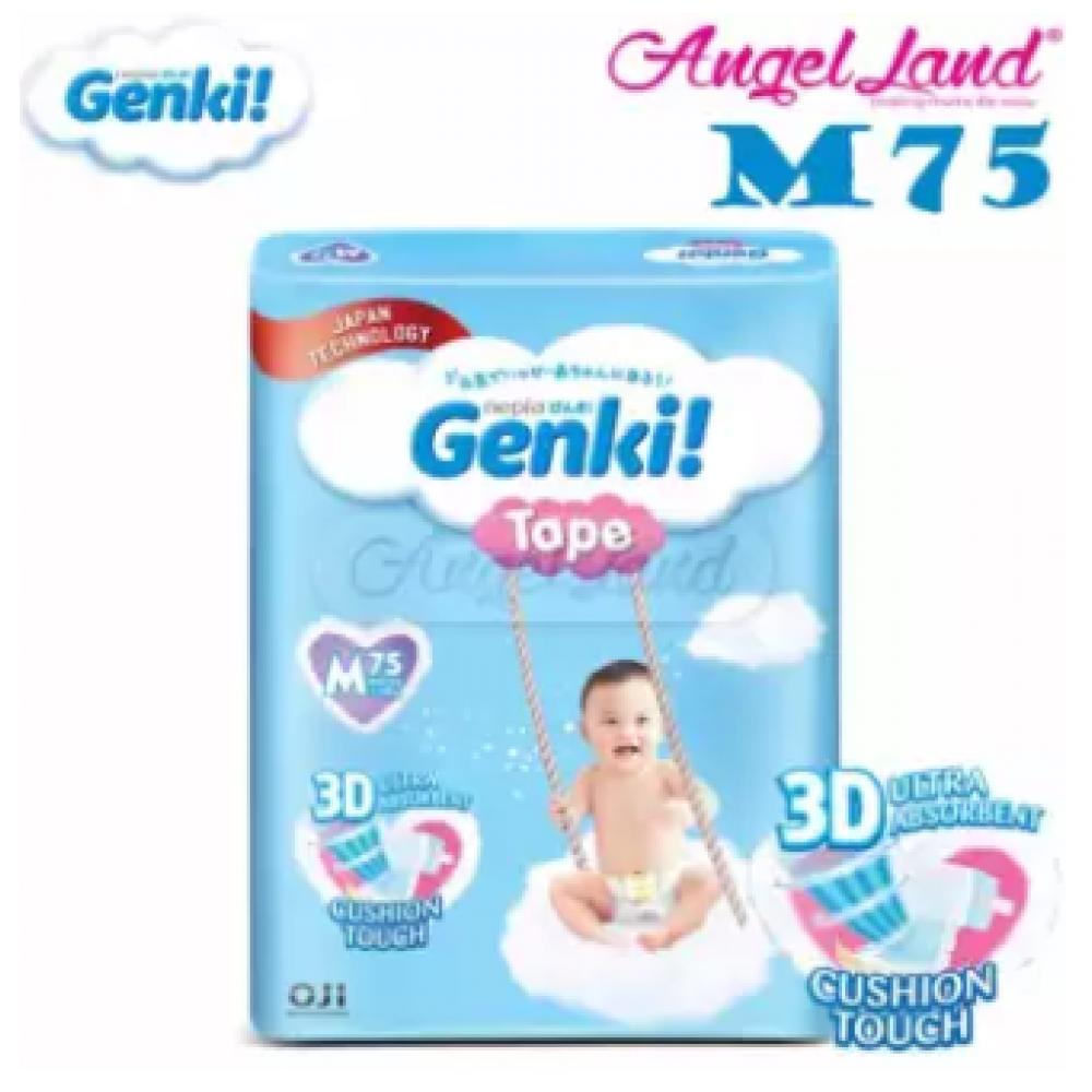 Genki Tape Mega Diaper M75 (1Pack)