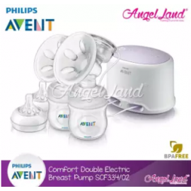 image of Philips Avent Comfort Twin Electric Breast Pump - SCF334/31