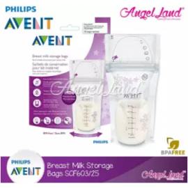 image of Philips Avent Breast Milk Storage Bag 25's-SCF603/25