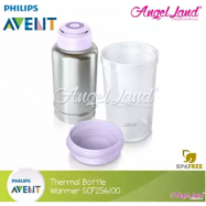 image of Philips Avent Thermal Bottle Warmer (On The Go)-SCF256/00