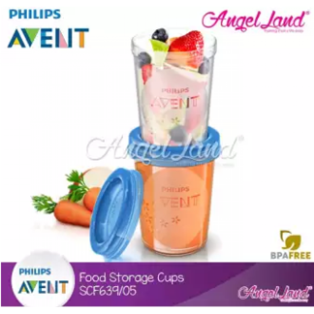 Philips Avent Food Storage Cup 5pcs 9oz/240ml-SCF639/05