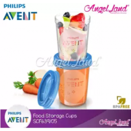 image of Philips Avent Food Storage Cup 5pcs 9oz/240ml-SCF639/05