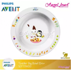 image of Philips Avent Toddler Big Bowl 12m+ - SCF704/00