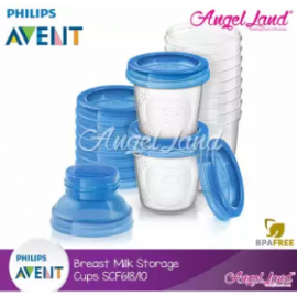 image of Philips Avent Breast Milk Storage Cups - SCF618/10