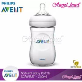 image of Philips Avent Natural Baby Bottle Single Pack - SCF693/17