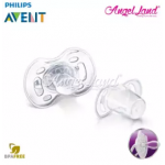 Philips Avent Freeflow Contemporary Pacifiers (6-18months) SCF180/27 & SCF180/28 - Pink